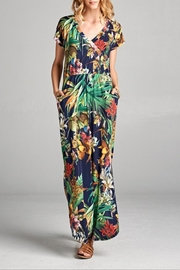 Hailey & Co Tropical Print Dress - Product Mini Image
