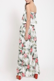 LoveRiche Tropical Print Dress - Side cropped