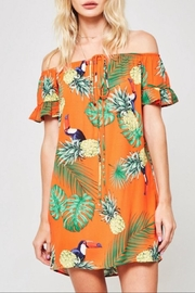 Promesa USA Tropical Print Dress - Product Mini Image