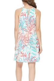Aryeh Tropical-Print Halter Dress - Side cropped