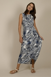 Molly Bracken Tropical Print Halter Maxi Dress - Product Mini Image