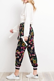 easel Tropical Print Joggers - Other