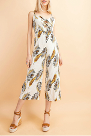 lelis Tropical print jumpsuit - Product Mini Image