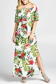 Oddi Tropical-Print Maxi Dress - Product Mini Image