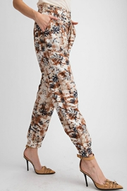easel Tropical Print Pant - Other
