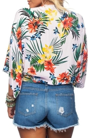 Buddy Love Tropical Print Top - Side cropped