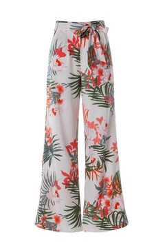 Compendium Tropical Print Trousers - Product List Image