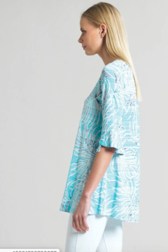 Clara Sunwoo Tropical Print V-Neck Tunic - Alternate List Image