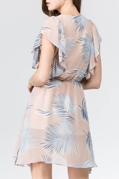 On Twelfth Tropical Print Wrap Dress - Alternate List Image
