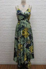 Ina Tropical print wrap dress - Product Mini Image