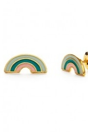 Amano Trading Tropical Rainbow Stud Earrings - Product Mini Image