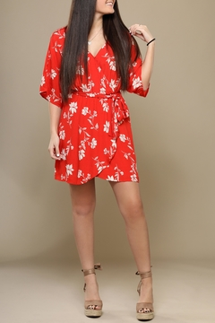Lush Tropical Red Dress - Product List Image