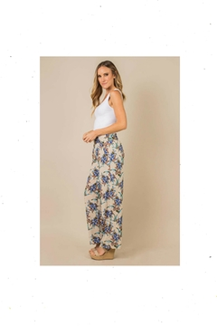 Simply Noelle Tropical-Retreat Palazzo Pant - Product List Image