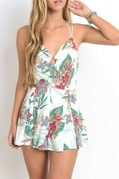 Hommage Tropical Romper - Product List Image