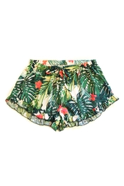 Promesa USA Tropical Ruffle Shorts - Front cropped