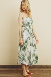 dress forum Tropical Stripe Jumpsuit - Front full body