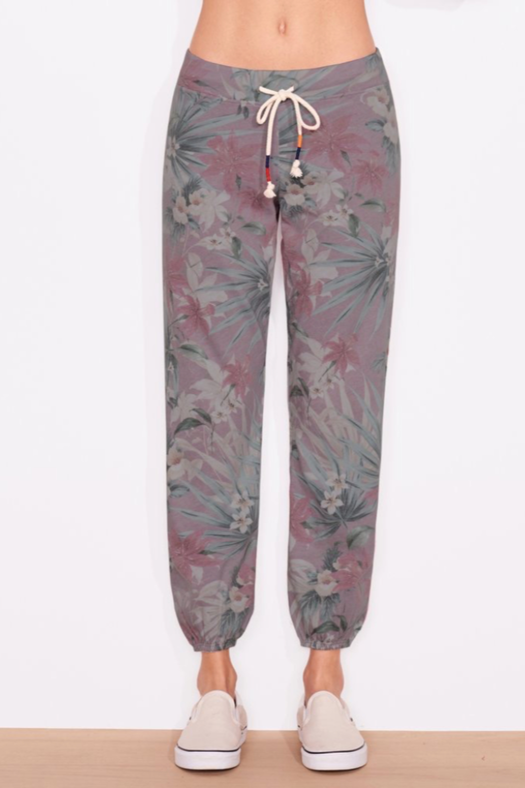 Sundry TROPICAL SWEATPANTS - Front Cropped Image