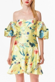 Ina Tropical Yellow Dress - Product Mini Image