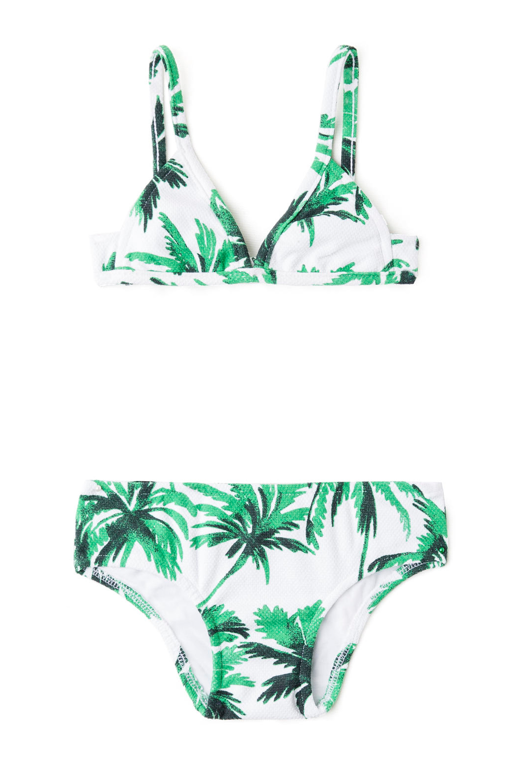 Salinas Tropicale Girls Triangle Bikini Set - Front Cropped Image