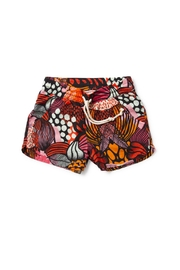 Missie Munster Tropicana Collage Short - Front cropped