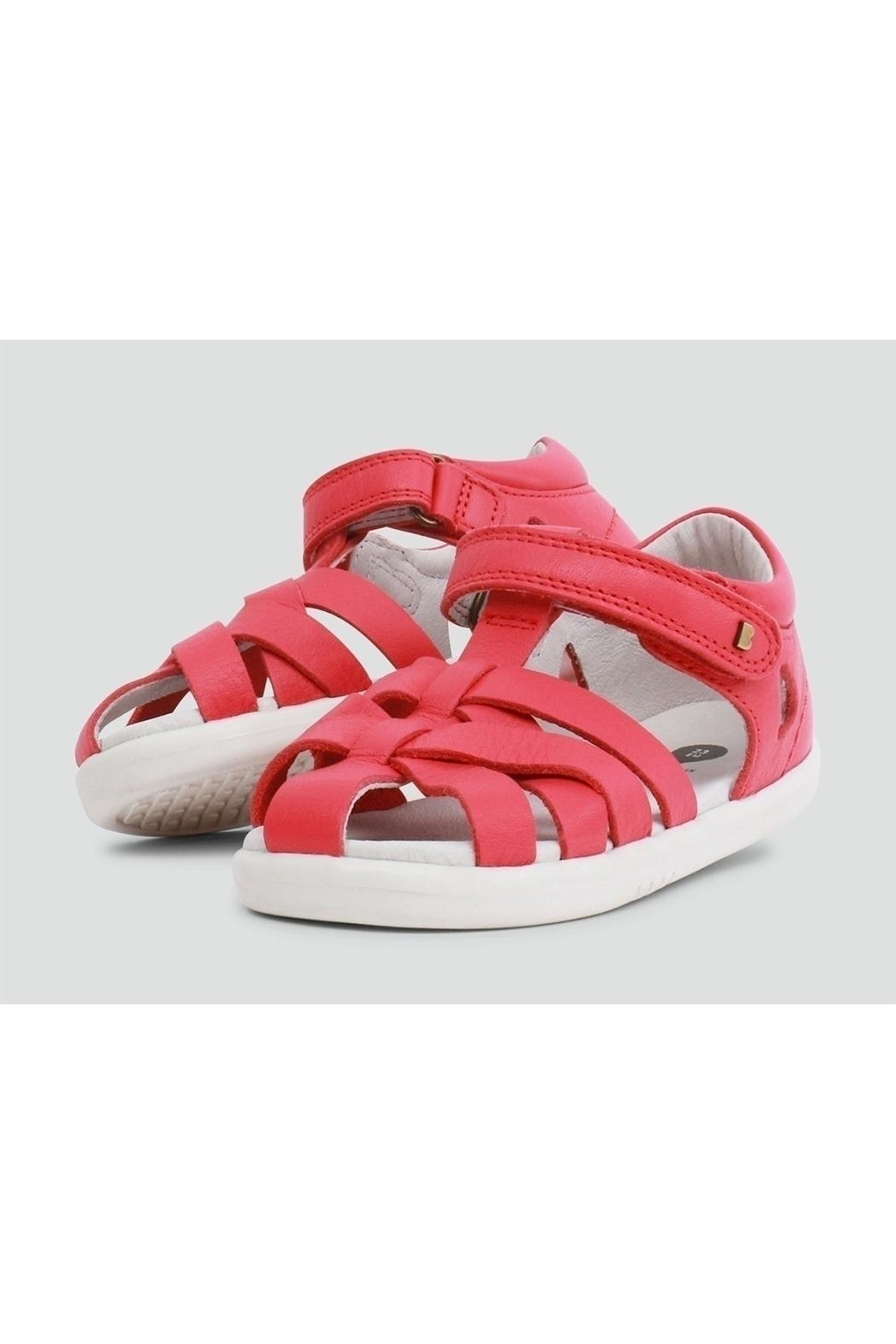 Bobux Tropicana Watermelon Closed-Sandals - Front Cropped Image