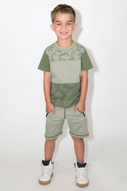 Kapital K Tropics Block Tee - Front full body