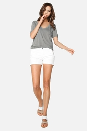 James Jeans Trouser Short - Front cropped