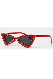 Madison Avenue Accessories Trudy Red Sunglasses - Front cropped