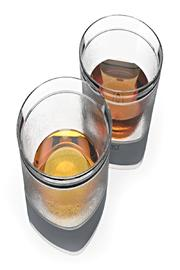 True Fabrications Freezable Whiskey Glasses - Side cropped