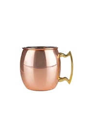 True Fabrications Moscow Mule Mug - Front full body