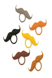 True Fabrications Silicone Bottle Mustaches - Product Mini Image