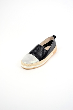 Shoptiques Product: Black Silver Shoes