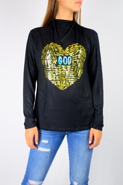TRUE JOY God Love Tee - Front cropped