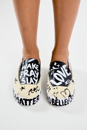 TRUE JOY Hand Painted Shoes - Front cropped