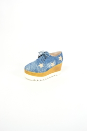 TRUE JOY Platform Denim Shoes - Product Mini Image