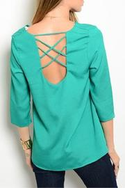 True Light USA Layered Top - Front full body