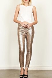 True Love Sequin Skinny Pants - Front cropped