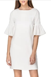 Jade Trumplet Sleeve Dress - Product Mini Image