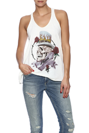 Trunk Ring Back Racer Tank - Front cropped