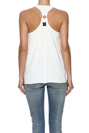 Trunk Ring Back Racer Tank - Back cropped