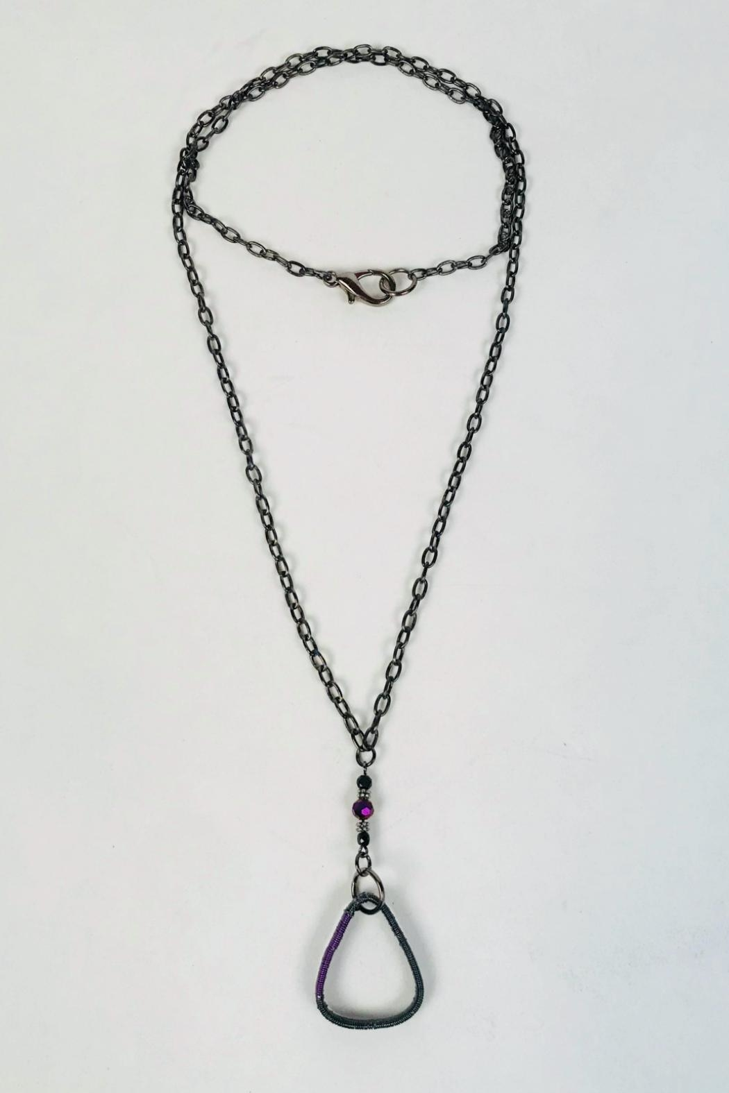 tsb design Guitar Pic Necklace - Front Cropped Image