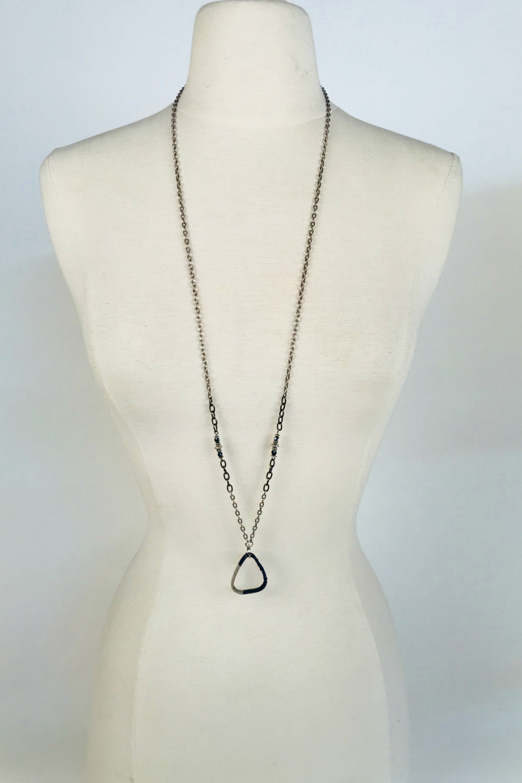 tsb design Guitar Pic Necklace - Back Cropped Image