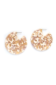 Shoptiques Product: Acetate Disc Earring