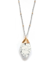 Tselaine Long Howlite Necklace - Product Mini Image