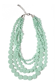 Tselaine Minty Fresh Necklace - Front cropped