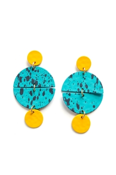 Shoptiques Product: Painted Splatter Earring