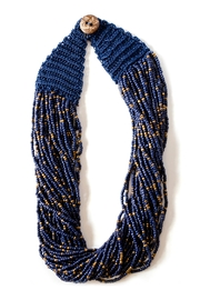 Tselaine Royal Blue Necklace - Front cropped