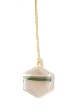 Shoptiques Product: Threaded Agate Necklace