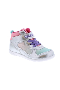 Shoptiques Product: Tsukihoshi Girls Jam Mid in SIlver/Pink
