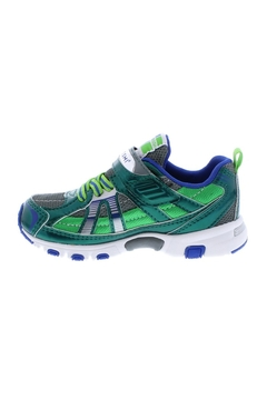 Tsukihoshi Youth Boys Storm in Green/Gray (Sizes 1.5-4) - Alternate List Image